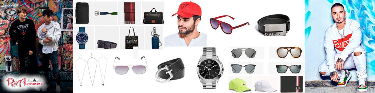 Men's, brand accessories, original products from manufacturers in Ukraine, Europe