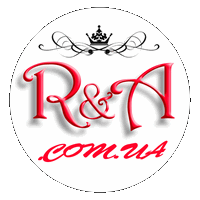 Official Logo R&A Brand Shop for women, men, children, clothes, shoes, accessories Kyiv, Ukraine