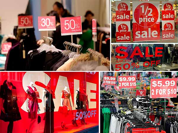 Unique price, discounts, promotions for branded goods in Internet shop R&A